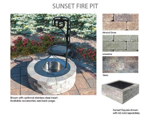 prefab pit kits ma outdoor fireplaces pit backyard kits