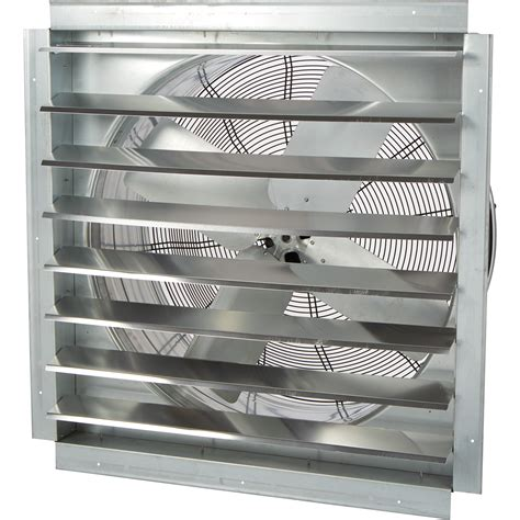direct drive exhaust fans with shutters strongway heavy duty fully enclosed direct drive shutter