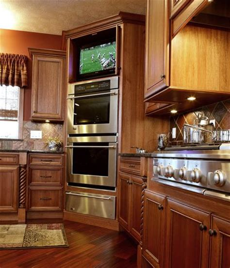 dallas microwave in cabinet ideas kitchen traditional with best 25 tv in kitchen ideas on pinterest kitchen tv