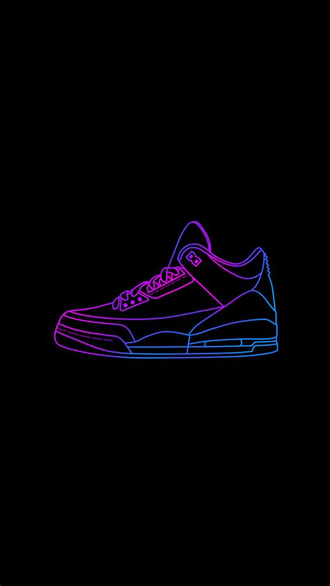 neon air jordan  iphone  wallpapers iphone