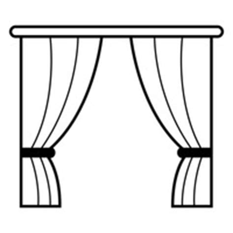 Types Of Curtains by Window With Curtain Vector Image 1462802 Stockunlimited