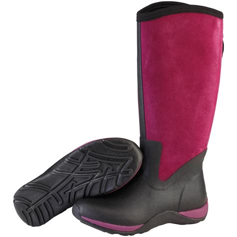 womans muck boots s muck boots 174 arctic adventure zip suede boots
