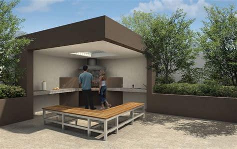 imagenes de asadores minimalistas ideas para decorar un quincho en verano