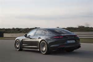 Porsche Panamera 2018 Porsche Panamera S E Hybrid Rear Three Quarter In