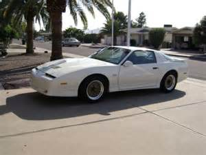 Pontiac Firebird White 1987 Pontiac Firebird Trans Am Gta White For Sale