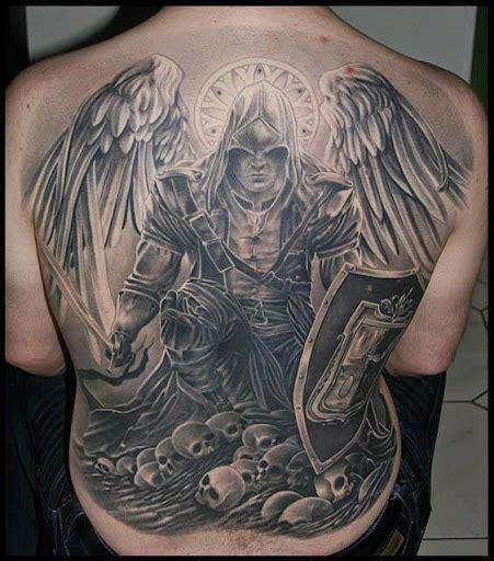 tattoo back warrior warrior tattoos