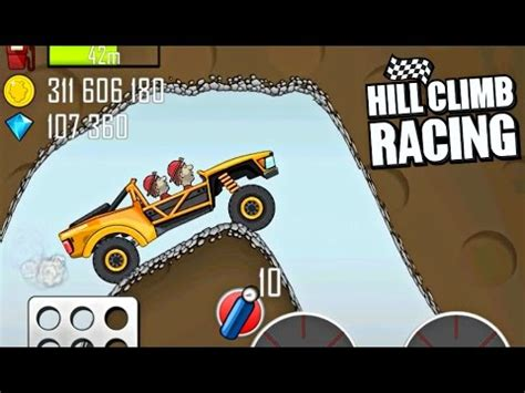 hill climb racing truck hill climb racing trophy truck in cave 3750m gameplay