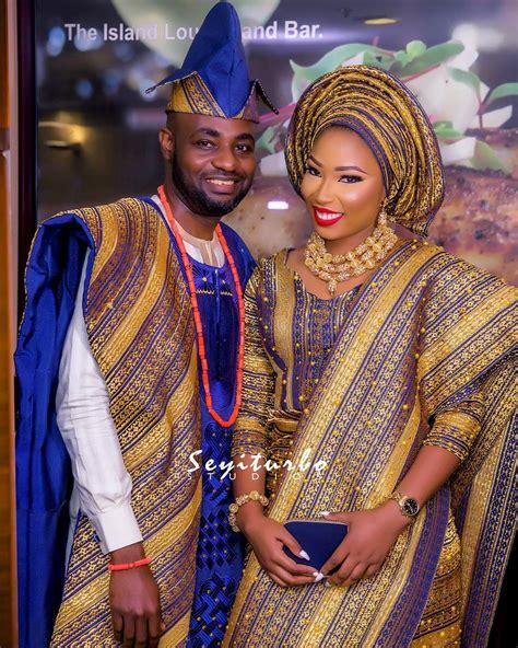 nigerian wedding latest aso oke colors newhairstylesformen2014 com aso oke is the most prevalent yoruba traditional attire