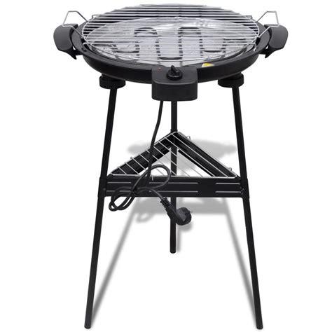 grill da giardino articoli per barbecue elettrico rotondo con supporto bbq