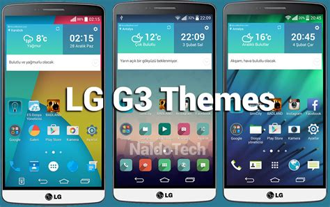 lg themes store best themes for lg g3 homescreen launcher naldotech