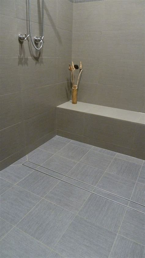 Shower Trench Drain by Best 25 Linear Drain Ideas On Shower Drain