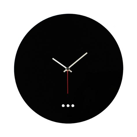 orologi da arredo orologio da parete minimal in plexiglass orologi da