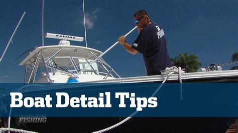boat detailing the best boat detailing ever florida sport fishing tv