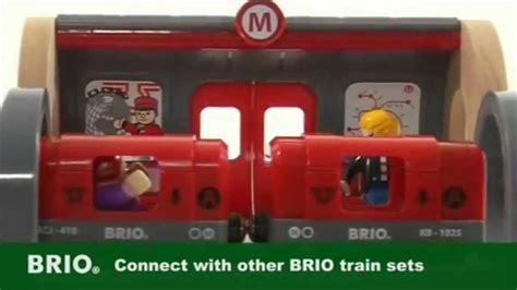 brio metro railway set hkssg香港細細個brio 33513 metro railway set youtube