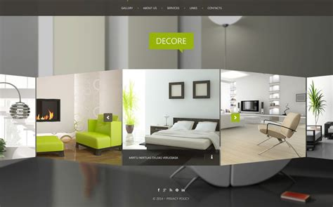 interior design website interior design website templates themes free