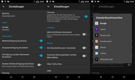 mozilla android mozilla android 28 images geheimtipps die besten android browser in 220 bersicht giga