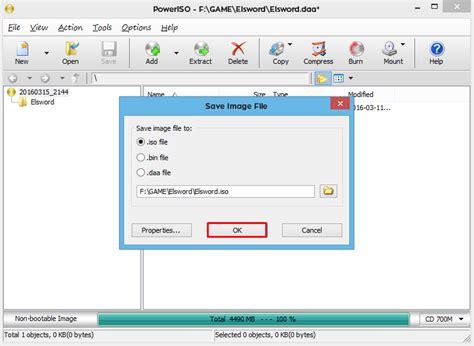 membuat file menjadi iso menggunakan poweriso cara membuat file iso mudah dan cepat espada blog