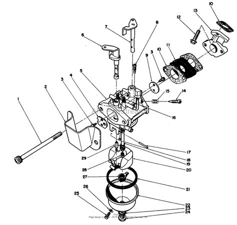 snowblower carburetor diagram snow blower engine diagram snowblower carburetor diagram
