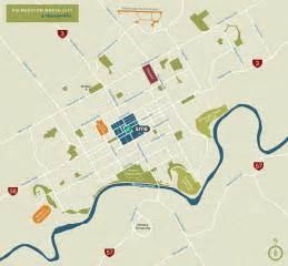 map of showing maps palmerston city manawatu