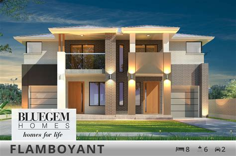 home disign duplex house designs bluegem homes
