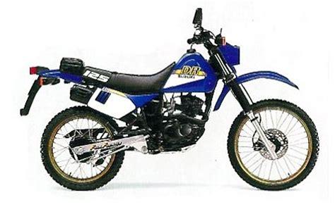 Suzuki Dr 150 Suzuki Dr125s Model History