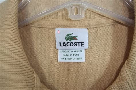 Terasli P001 Lacoste Bag Original lacoste sweater or real the ebay community