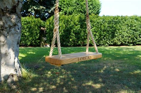 make a tree swing tree swings makemesomethingspecial co uk