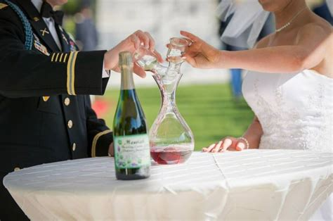 Wedding Ceremony Unity Drink by Wine Themed Wedding Unity Ceremony White Wine And