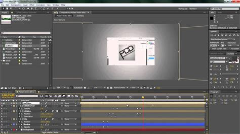 tutorial intro adobe after effects cs4 after effects cs4 cs5 tutorial creating a modern video