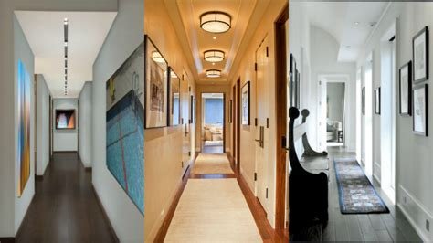 ideas  decorar  pasillo estrecho