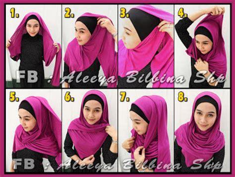 Tutorial Jilbab Gantung   cara memakai jilbab pashmina model gantung
