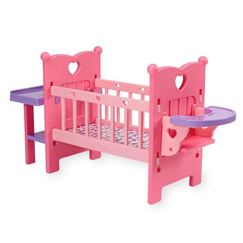 Baby Doll Crib And Highchair by You Me All In One Nursery Center Baby Doll Clothes