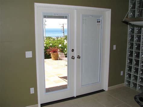 Patio Doors With Blinds Inside Glass Door Blackout Shades Window Shades Pinterest Blackout Shades Door Shades And Doors
