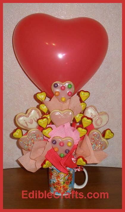 valentine gifts for him cute valentines day gifts how to make a cookie bouquet