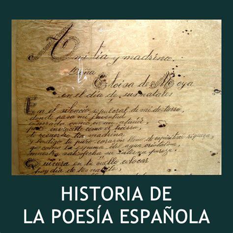 Poesa Espaola by Poes 237 A Espa 241 Ola