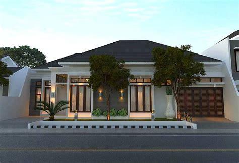 model rumah minimalis mewah  gaya modern  lantai