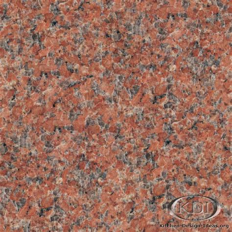 Peninsula Kitchen Ideas peninsula red granite kitchen countertop ideas