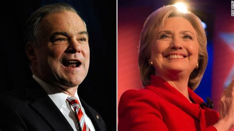 by picking anti abortion tim kaine hillary is testing tim kaine i m a strong supporter of roe v wade