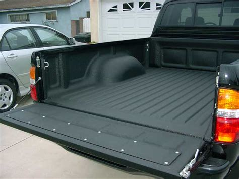 spray in bed liners plastic bedliner or spray on bedliner yotatech forums