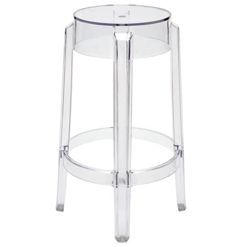 Clear Acrylic Counter Stools by Klipper Clear Acrylic Modern Counter Stool Pair