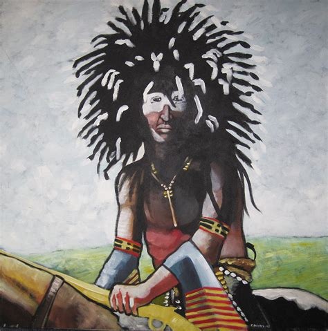 cheyenne soldiers cheyenne soldier painting by franck boistel