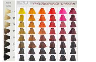 elumen color chart goldwell elumen color chart