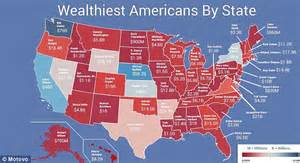 Cheapest Real Estate In America by Microsoft S Bill Gates Tops Map Of Wealthiest Americans