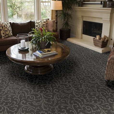 carpet cascade garden z6828 slate flooring by shaw ideas living rooms traditional