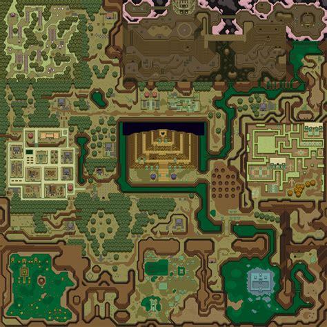 legend of zelda wall map jala 2 march 2005