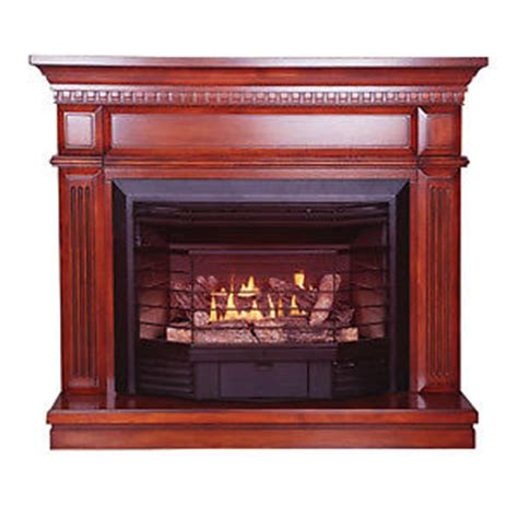 ventless stove heater fireplace gas propane lp