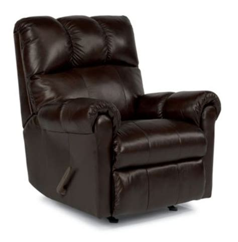 leather rocker recliner chairs recliner chair homemakers flexsteel mcgee 100 leather rocker recliner homemakers