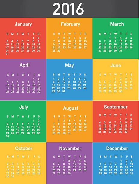 Save The Date Calendar Template 2016