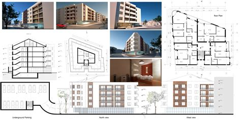 house plan with apartment apartments building plans designed by oarchitecture