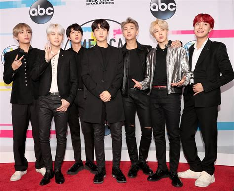 bts american music awards bts performed at the american music awards and the fans